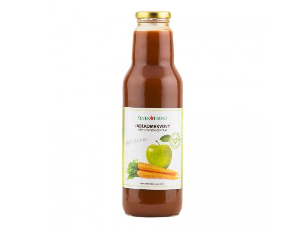 Koncentrát jablkomrkvový SEVEROFRUKT 750 ml