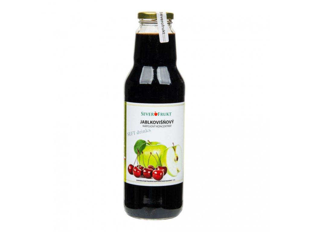Koncentrát jablkovišňový SEVEROFRUKT 750 ml