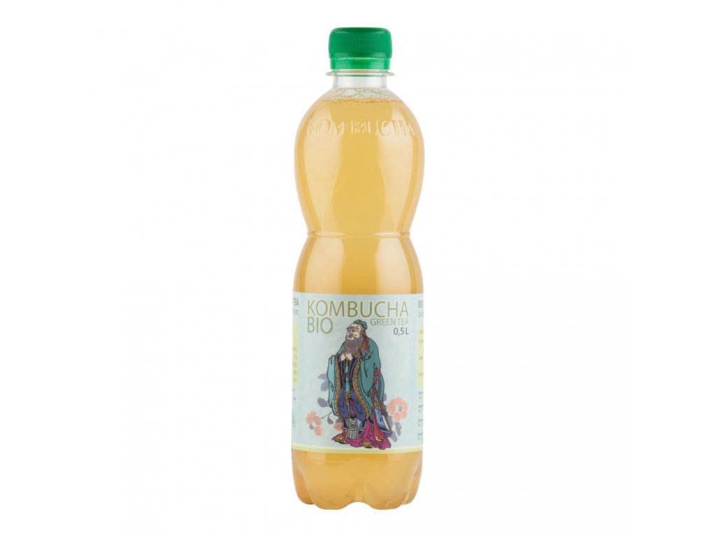 Kombucha green tea STEVIKOM BIO 500 ml