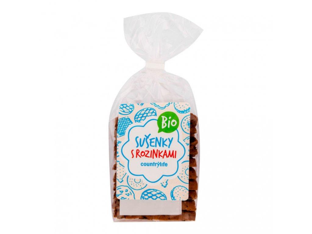 Sušenky s rozinkami COUNTRY LIFE BIO 230 g