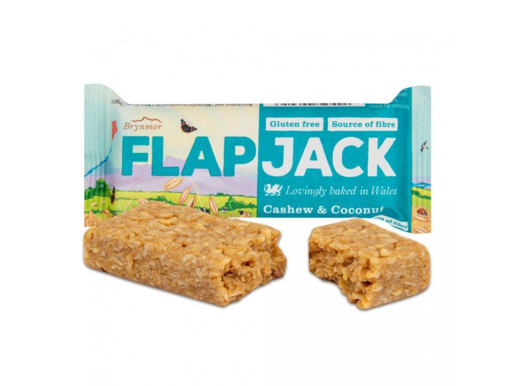 Flapjack ovesný kešu-kokos bezlepkový WHOLEBAKE 80 g