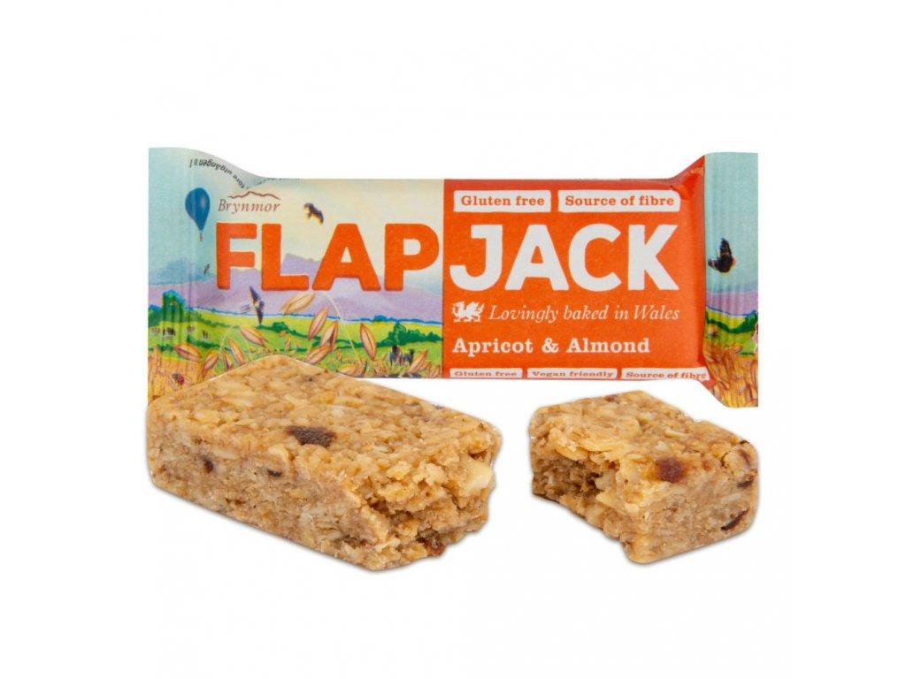 Flapjack ovesný meruňka-mandle bezlepkový WHOLEBAKE 80 g