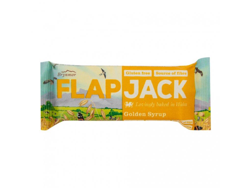 Flapjack ovesný zlatý sirup bezlepkový 80 g WHOLEBAKE BIO