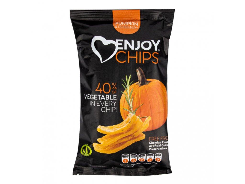 Enjoy Chips s dýní a rozmarýnem NEW DELESPINE 40 g
