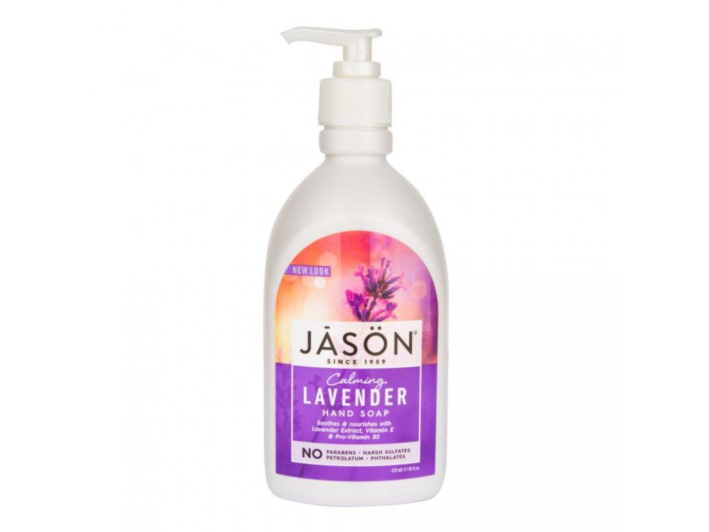 Mýdlo tekuté levandule JASON 473 ml