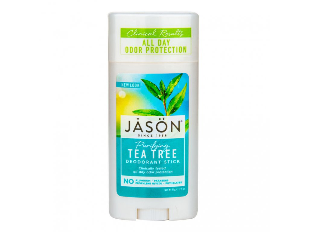 Deodorant tuhý tea tree JASON 71 g