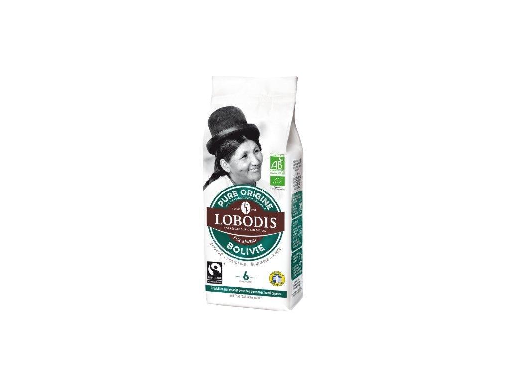 Káva mletá BIO z Bolívie 250 g