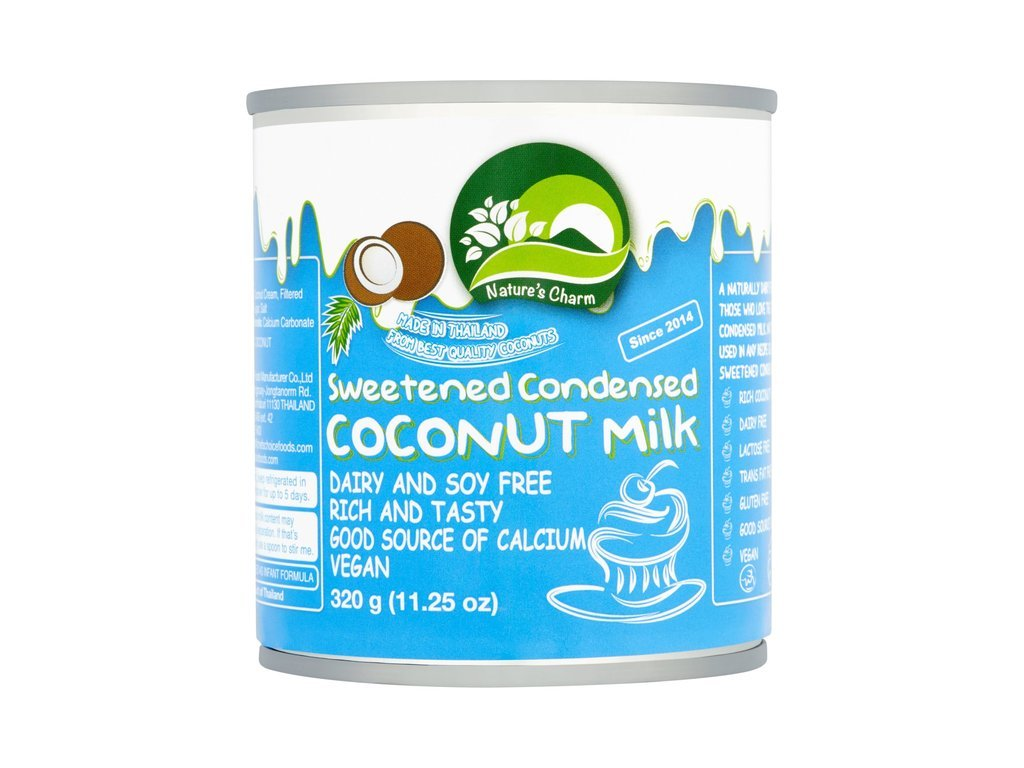 Mléko kokosové kondenzované slazené zahuštěné vegan 320 g