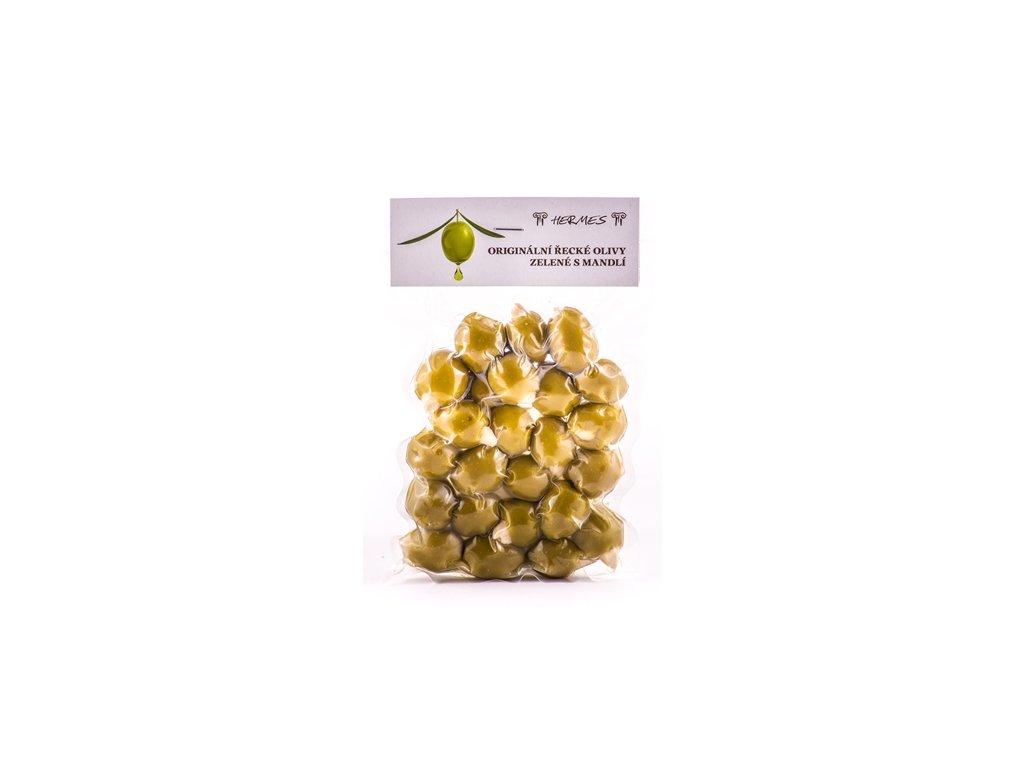 Zelené olivy smandlí vakuum 150 g