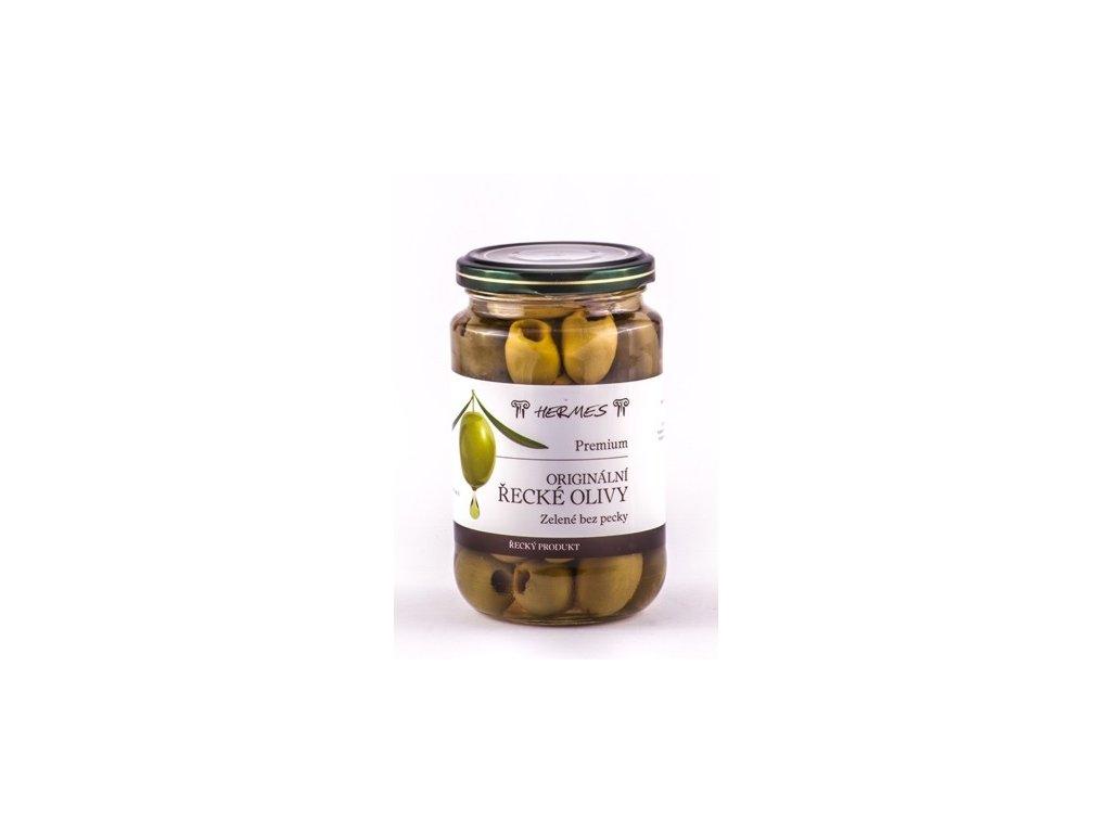 Olivy zelené bez pecky /sklo 170 g