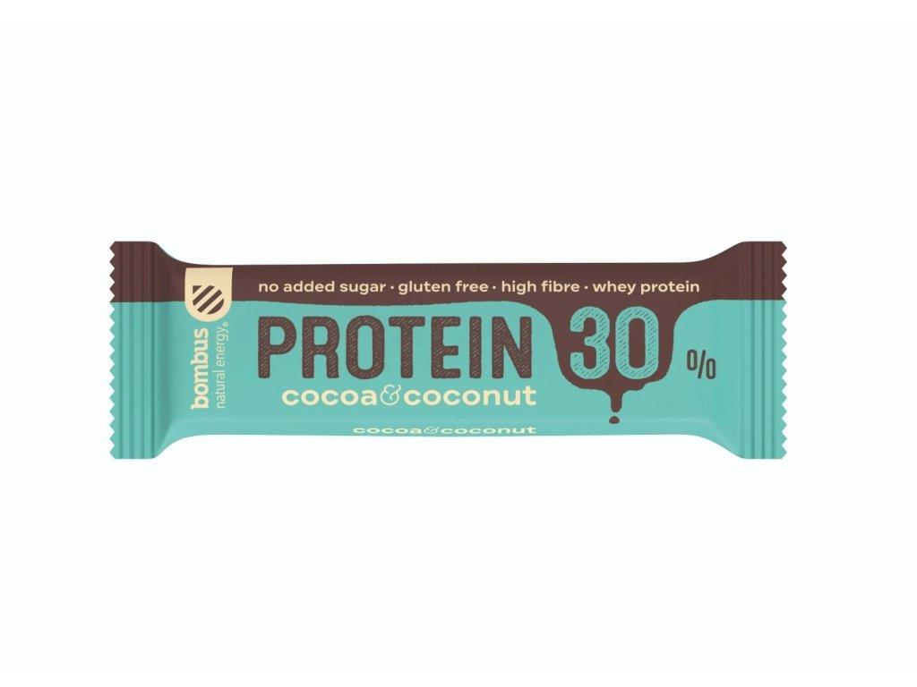 BOMBUS Protein 30% Cocoa&Coconut 50 g
