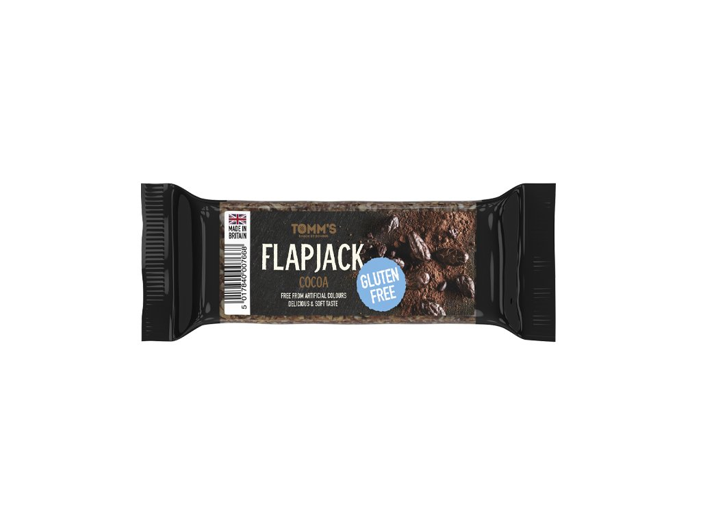 FLAPJACK TOMM´S bez lepku Cacao 100 g