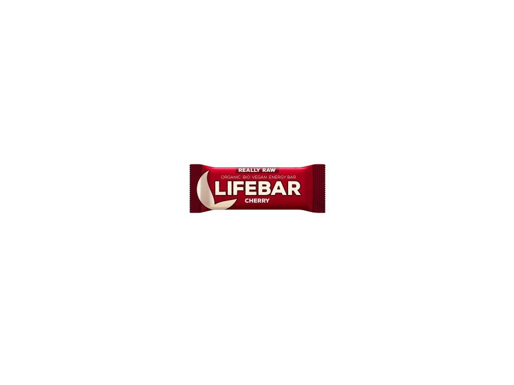 LIFEBAR BIO RAW třešňová 47 g LIFEFOOD