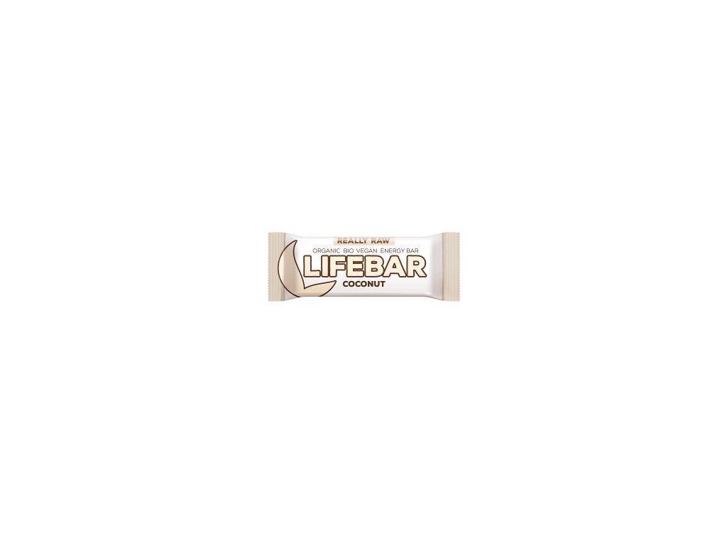 LIFEBAR BIO RAW kokosová 47 g LIFEFOOD