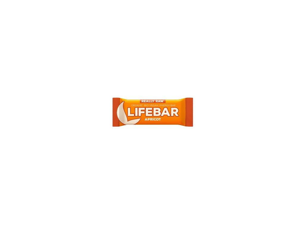 LIFEBAR BIO RAW meruňková 47 g LIFEFOOD