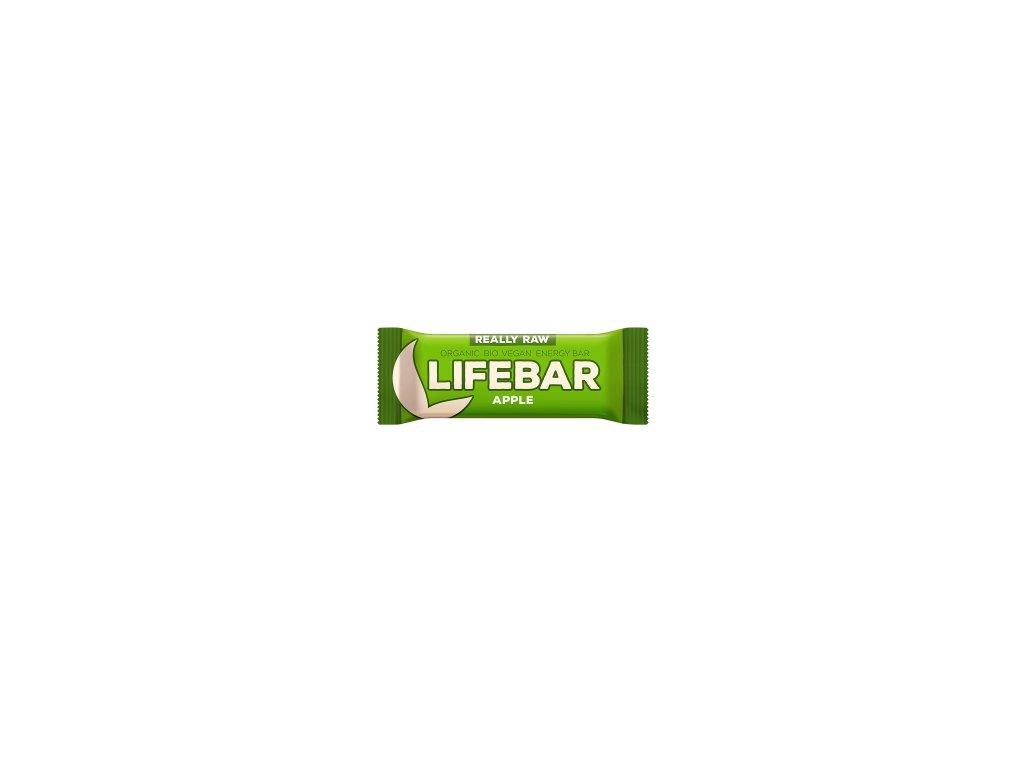 LIFEBAR BIO RAW jablečná 47 g LIFEFOOD