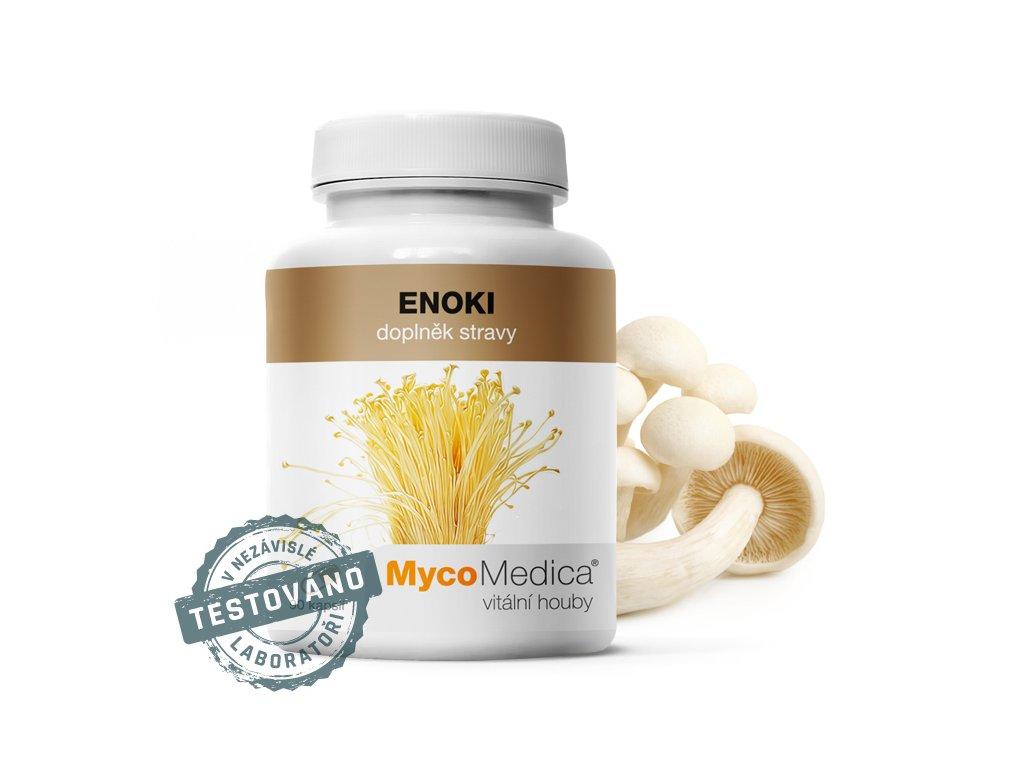 Enoki 90x500mg MycoMedica