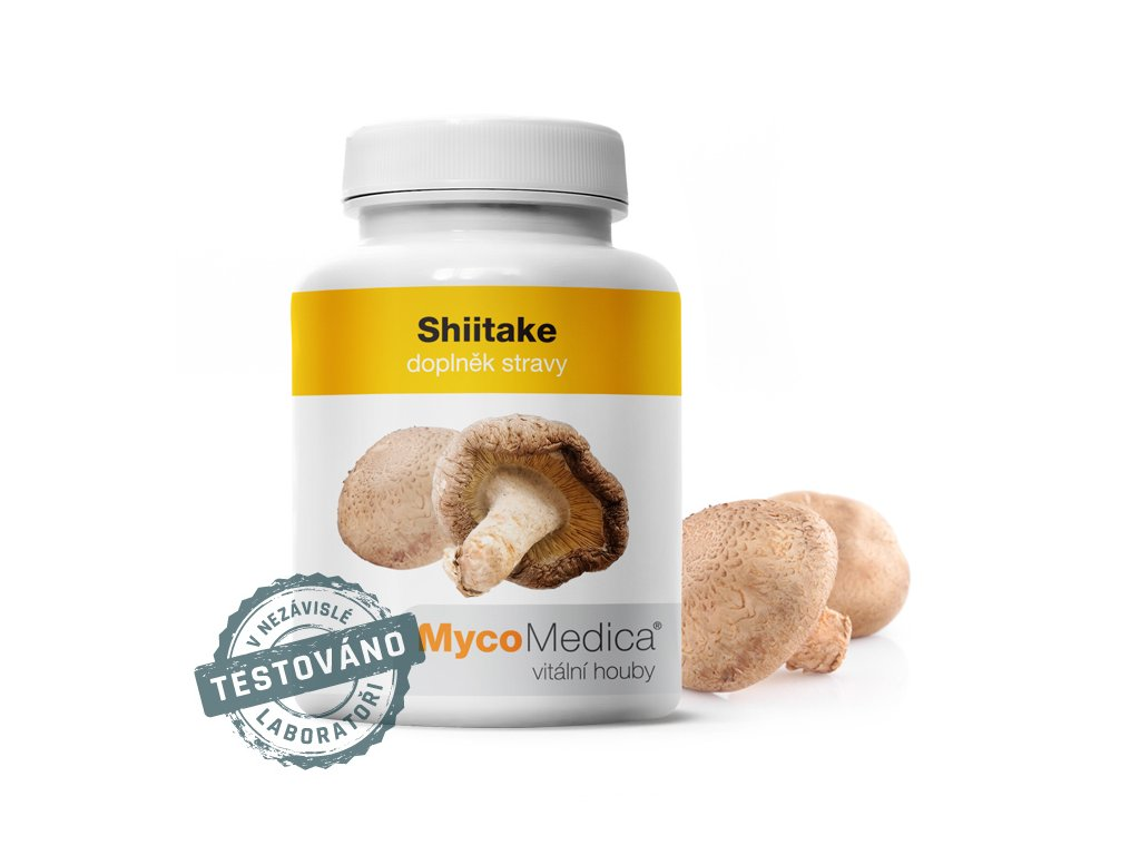 Shiitake 90x500mg MycoMedica