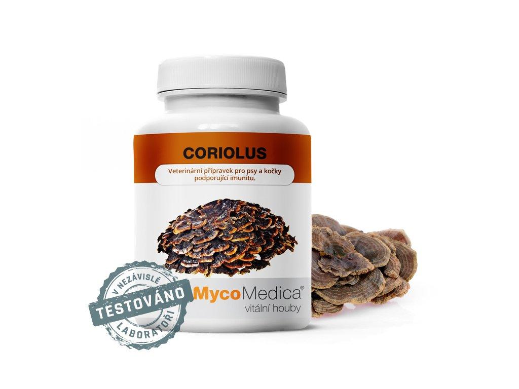 Coriolus 180x250mg MycoMedica