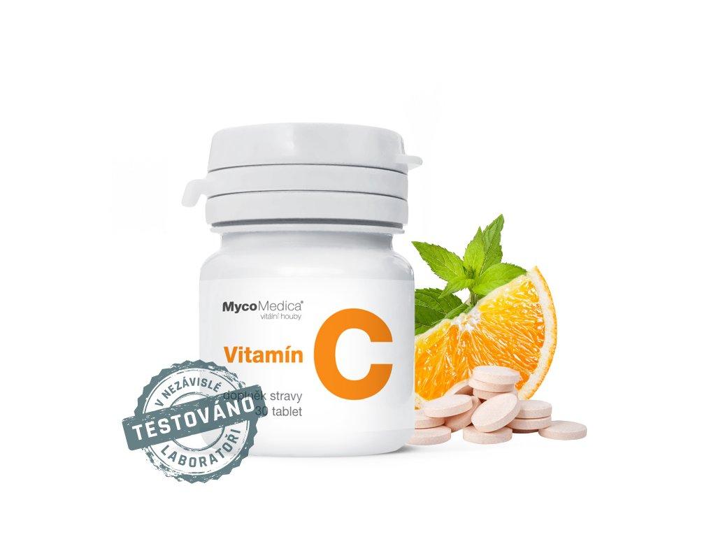 Vitamín C 30 tbl MycoMedica