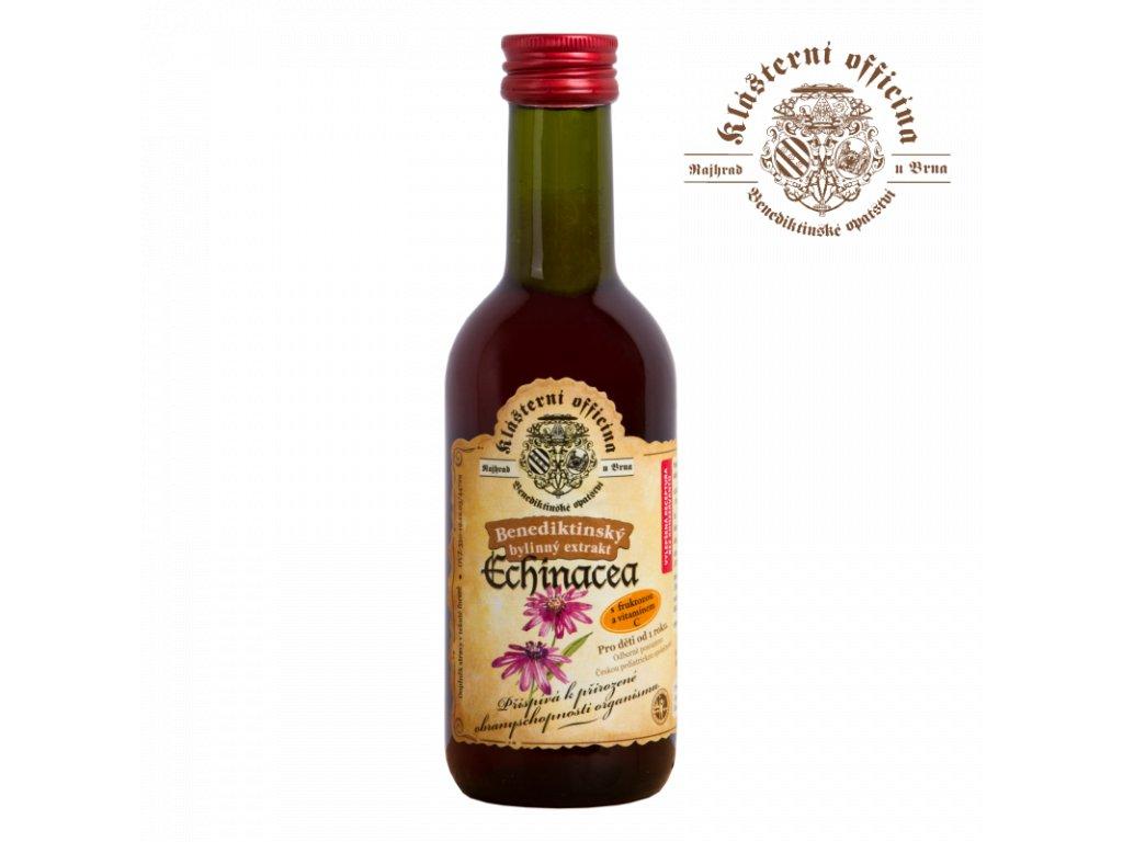 Bylinkový sirup echinacea Klášterní officína 250 ml