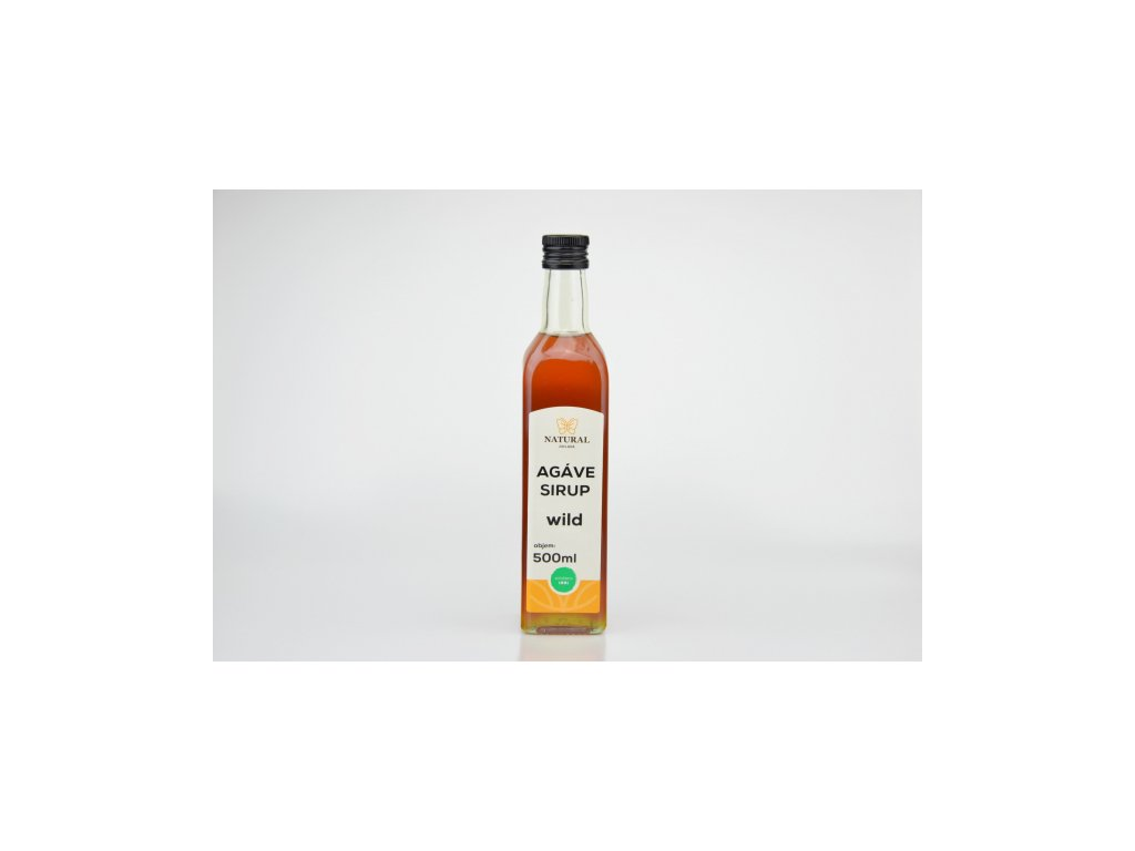 Agáve sirup wild NATURAL 500 ml