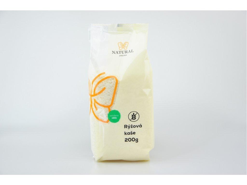 Kaše rýžová NATURAL 200 g