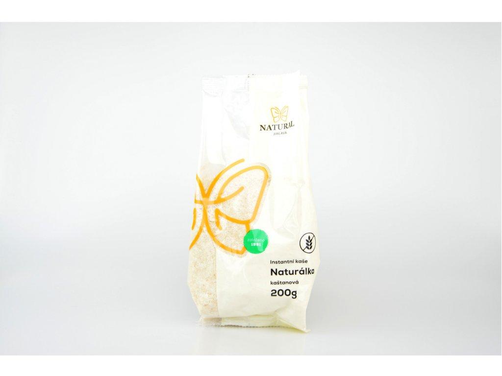Naturálka kaštanová bezlepková instantní kaše NATURAL 200 g