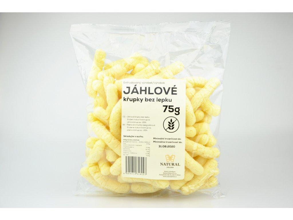 Křupky jáhelné NATURAL 75 g