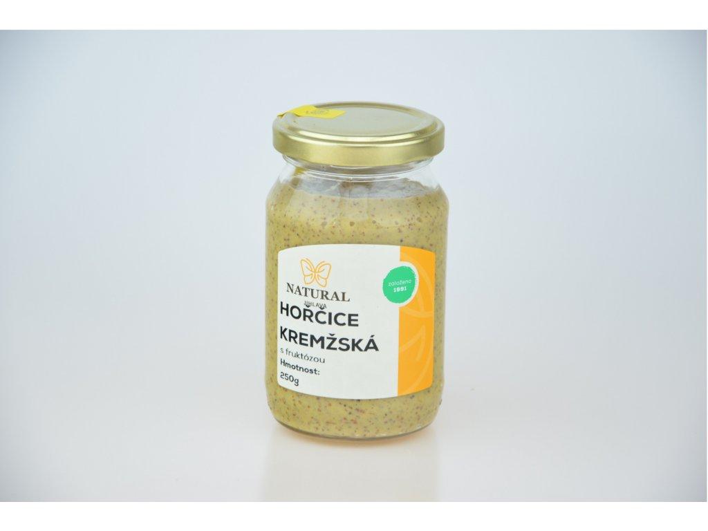 Hořčice kremžská s fruktózou NATURAL 250 g