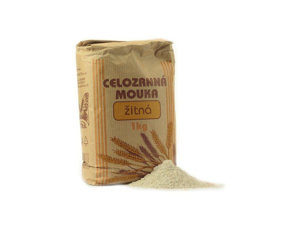 Celozrnná mouka žitná NATURAL 1 kg