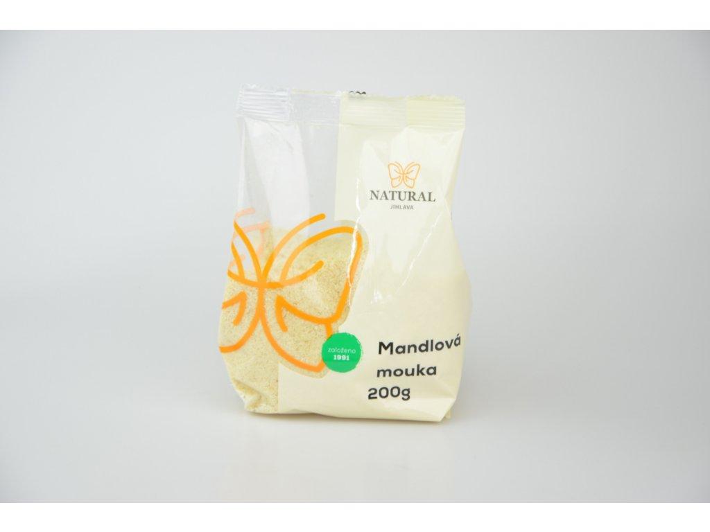Mandlová mouka jemně mletá NATURAL 200 g