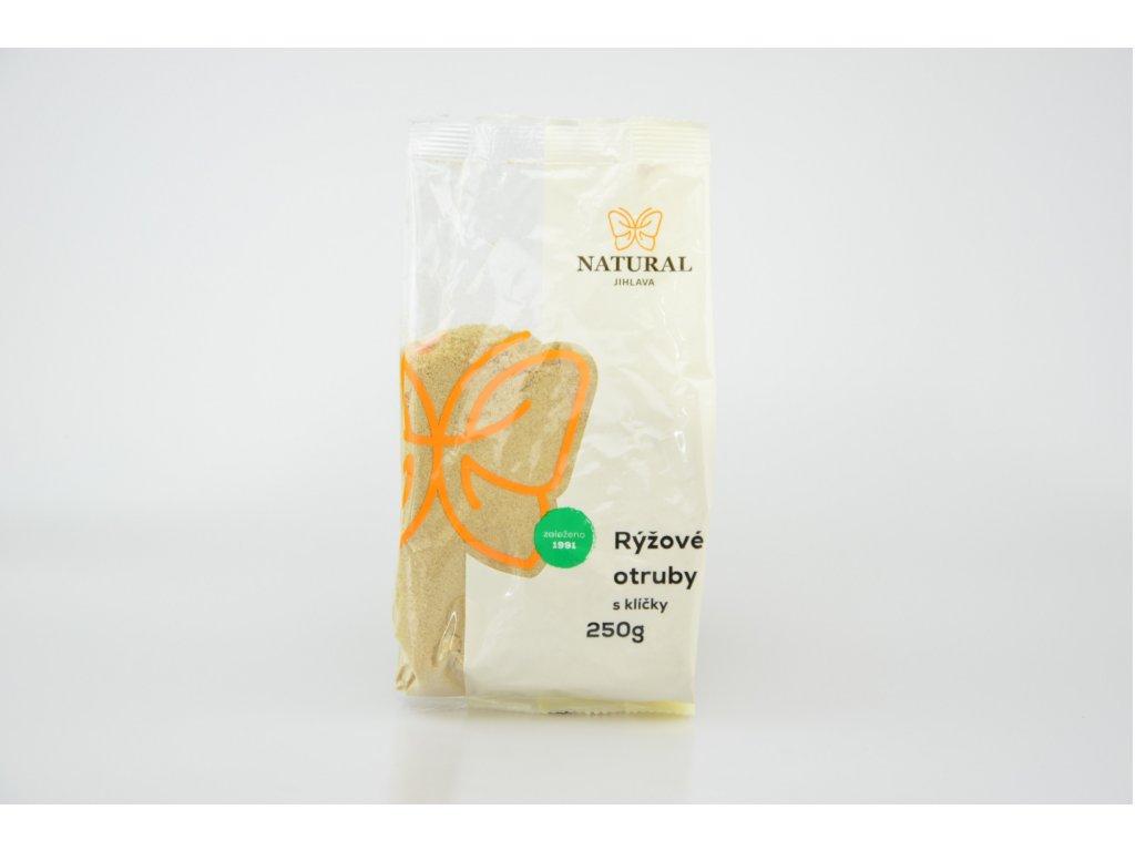 Otruby rýžové s klíčky NATURAL 250 g