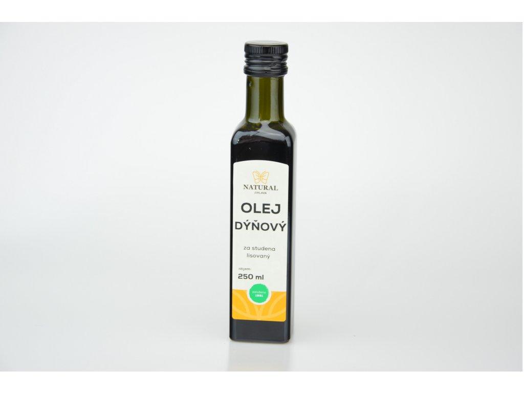 Olej dýňový za studena lisovaný NATURAL 250 ml