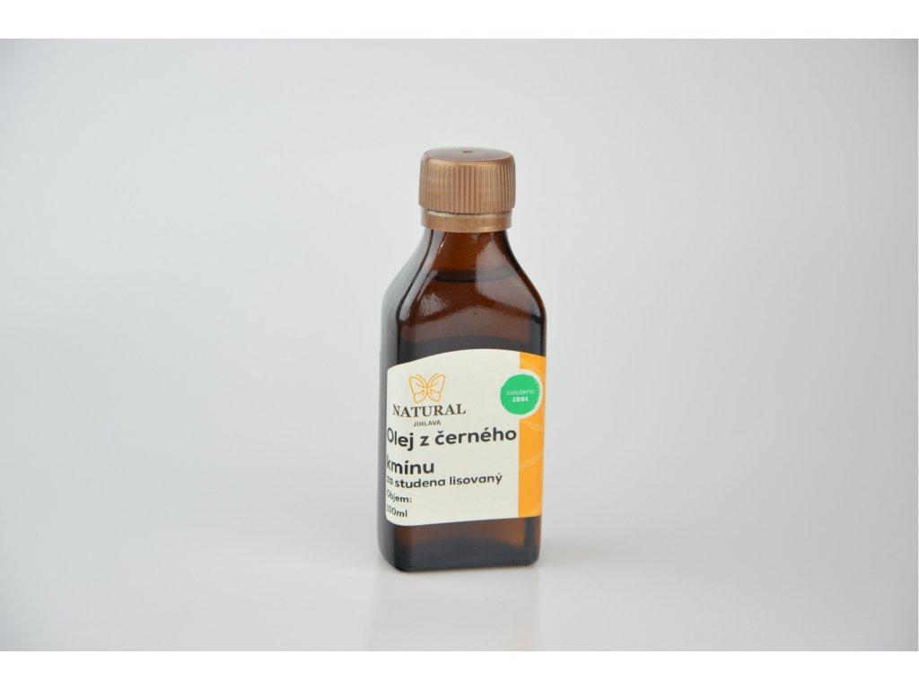 Olej z černého kmínu za studena lisovaný NATURAL 100 ml