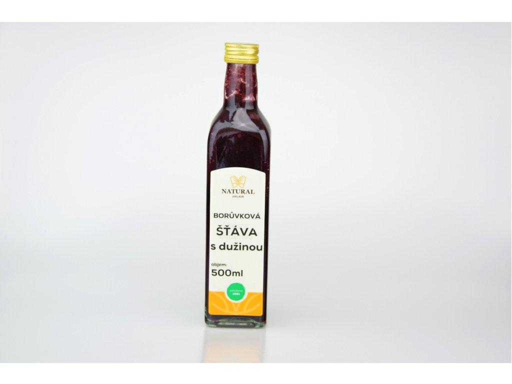 Borůvková šťáva NATURAL 500 ml