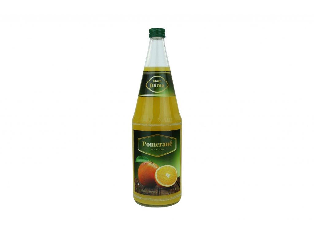 Stará Dáma pomeranč 1000 ml