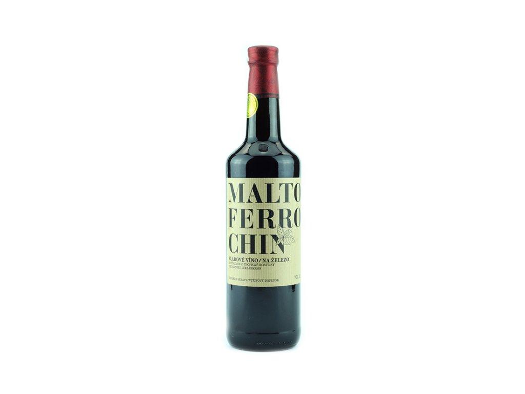 Maltoferrochin - železité víno 750 ml