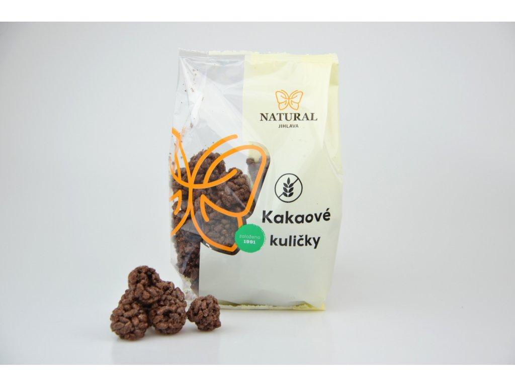 Kakaové kuličky bez lepku NATURAL 150 g