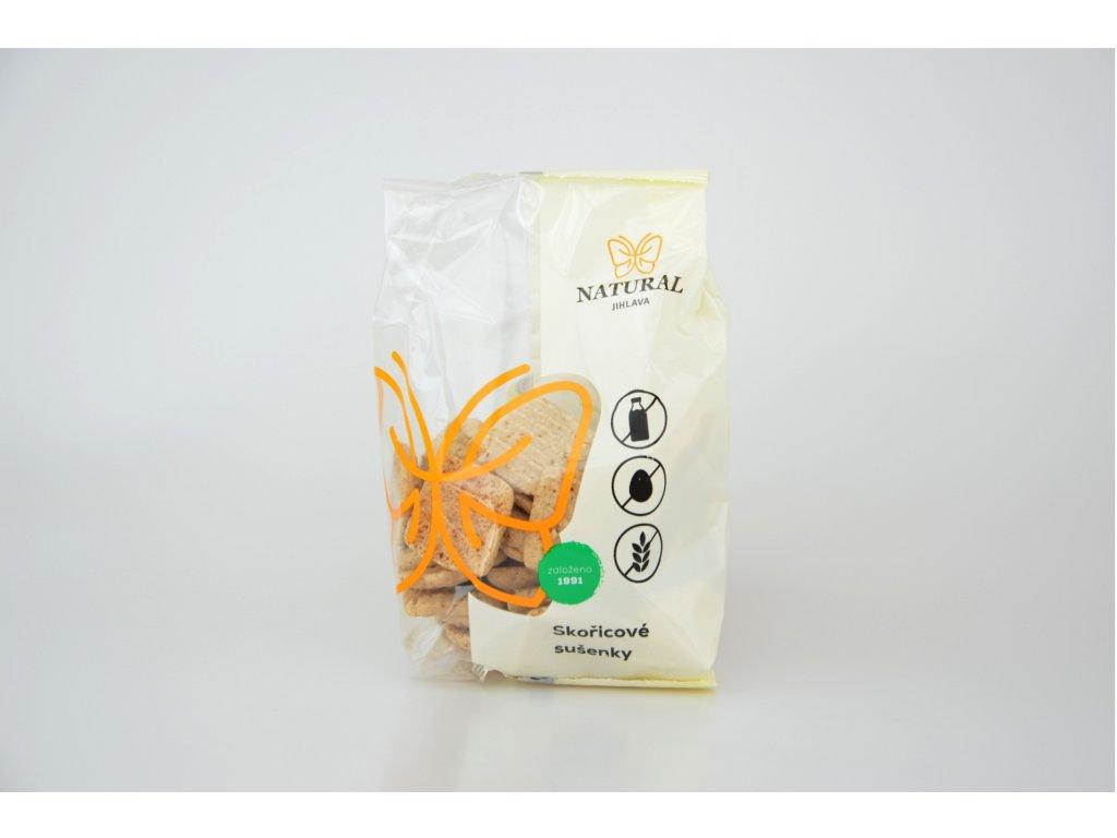 Skořicové bezlepkové sušenky NATURAL 150 g