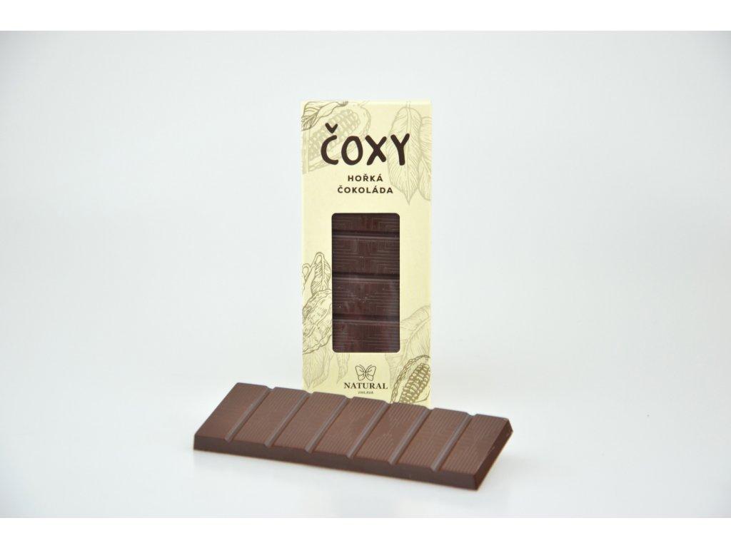 ČOXY čokoláda hořká s xylitolem NATURAL 50 g
