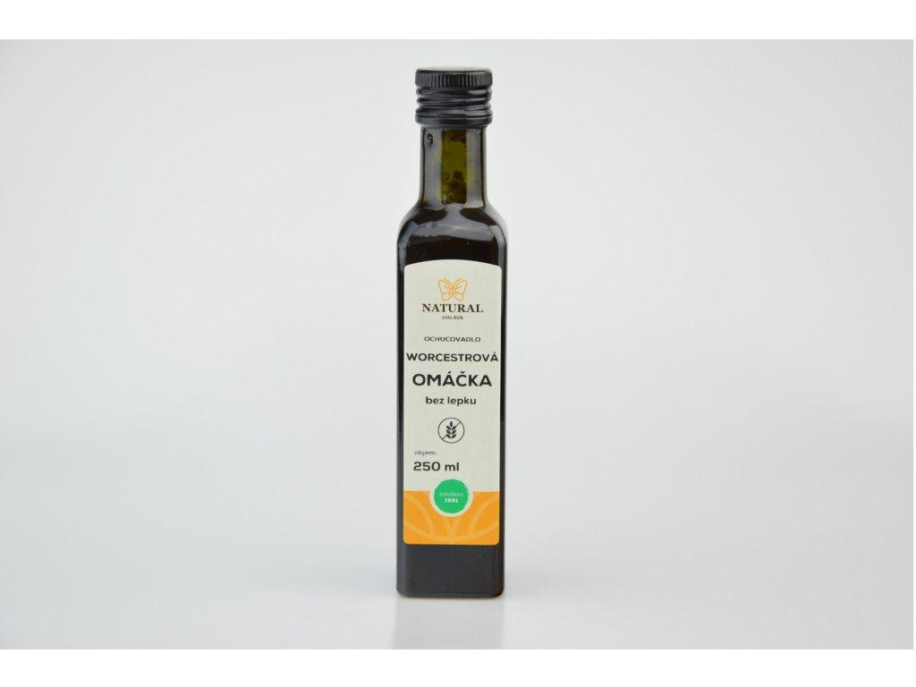 Worcestrová omáčka bez lepku NATURAL 250 ml