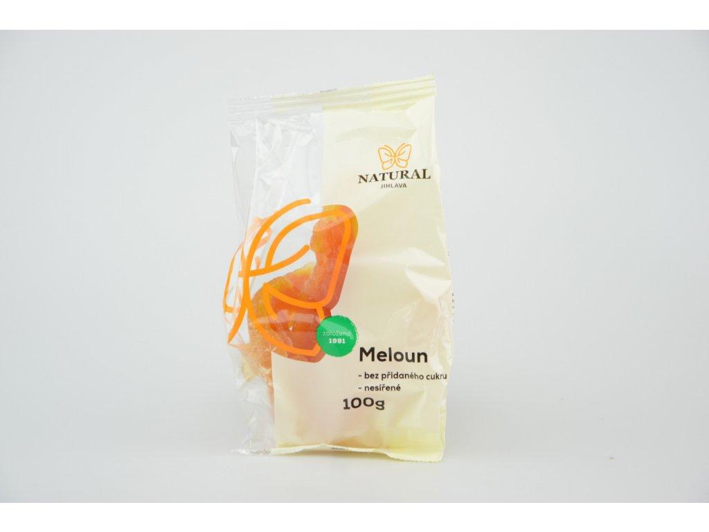 Meloun nesířený bez cukru NATURAL 100 g