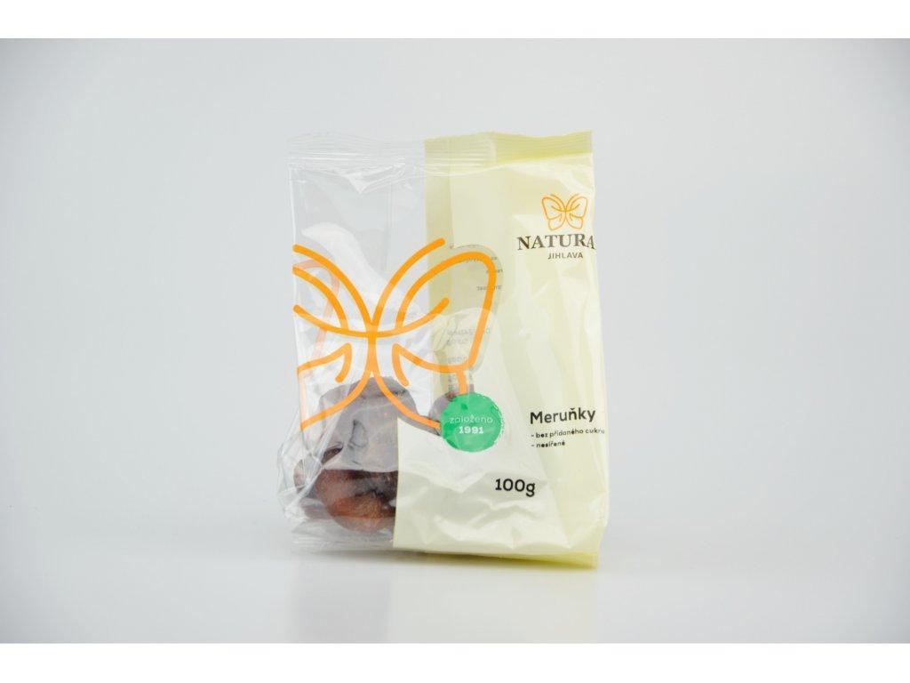 Meruňky nesířené bez cukru NATURAL 100 g