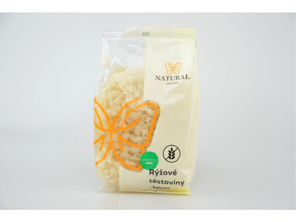 Rýžové těstoviny bez lepku kolínka NATURAL 300 g