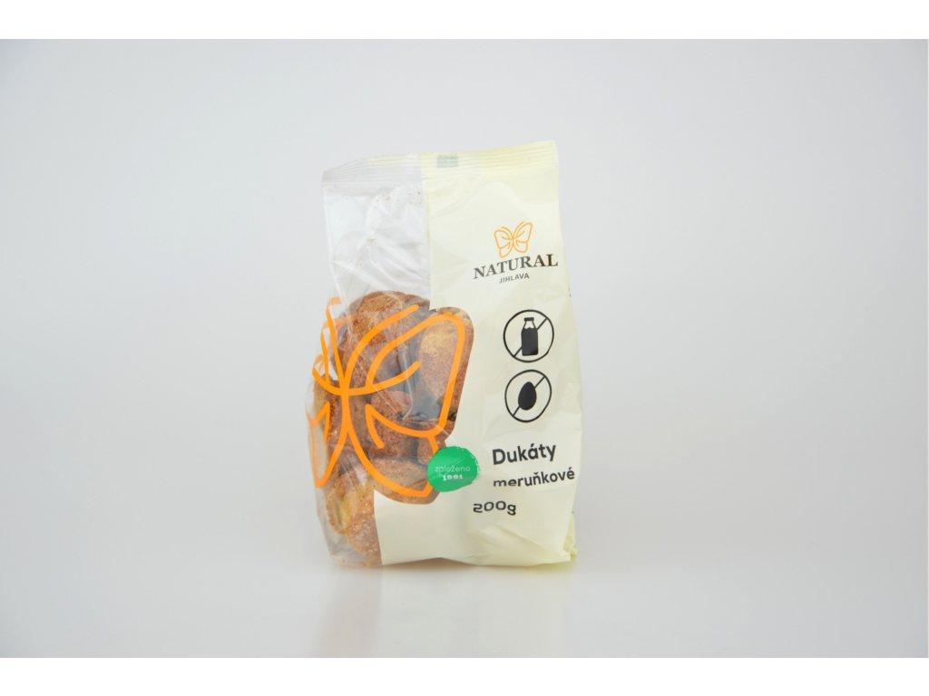 Dukáty meruňkové NATURAL 200 g