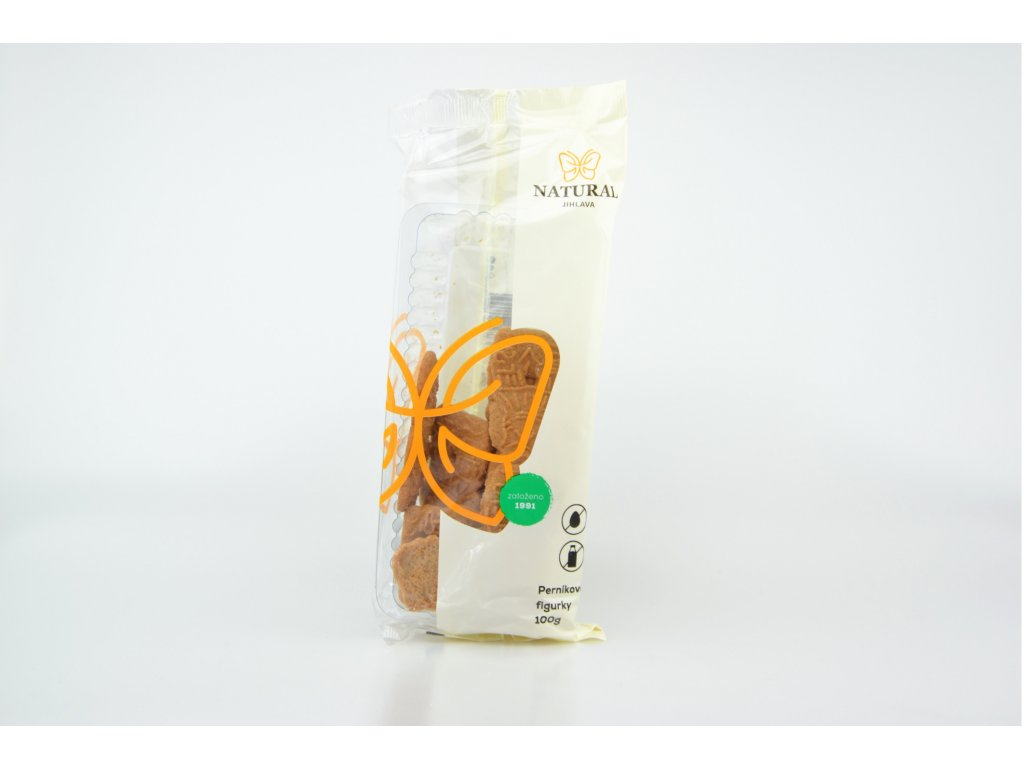 Perníkové figurky celozrnné sušenky NATURAL 100 g