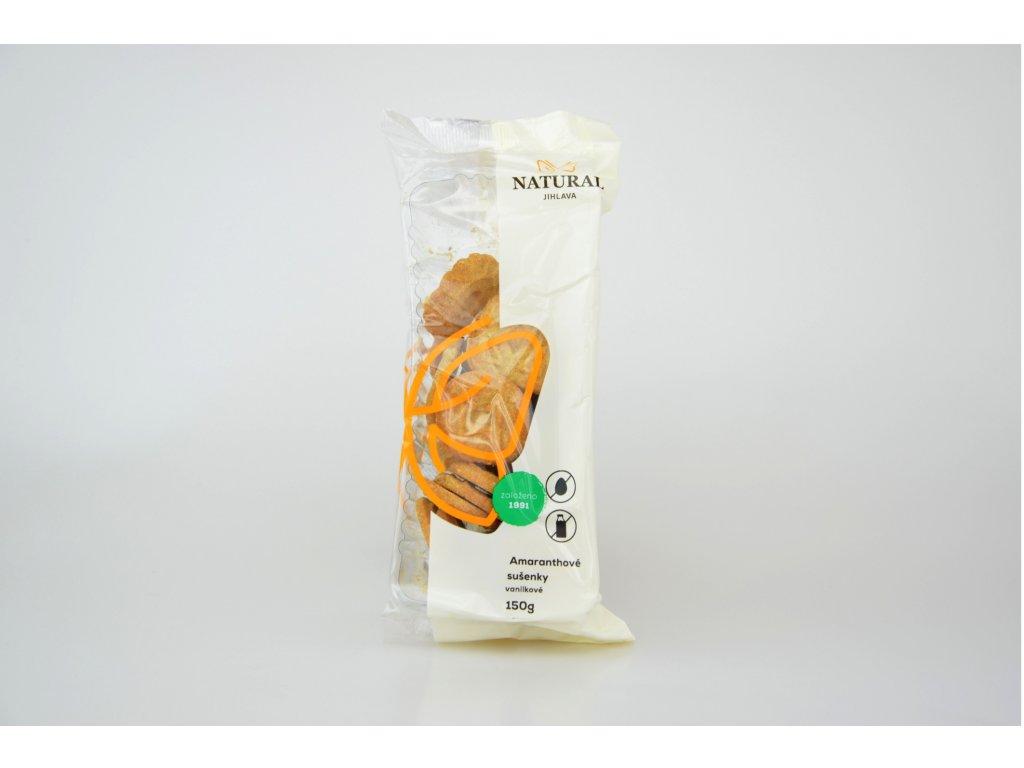 Amaranthové sušenky vanilkové NATURAL 150 g