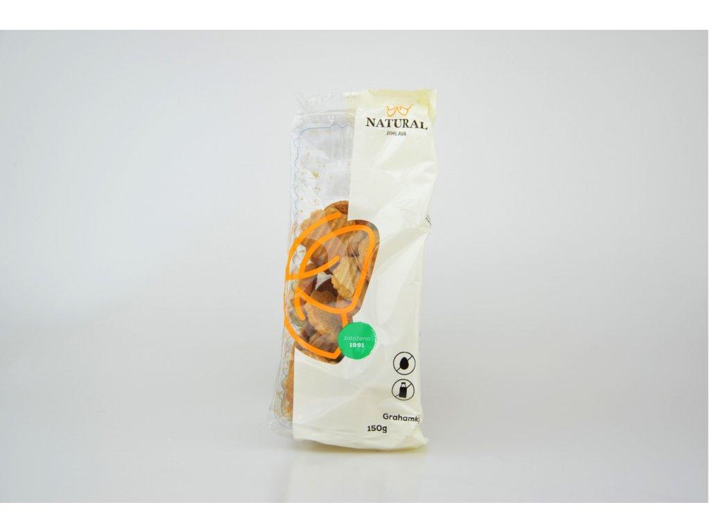 Grahamky celozrnné sušenky NATURAL 150 g