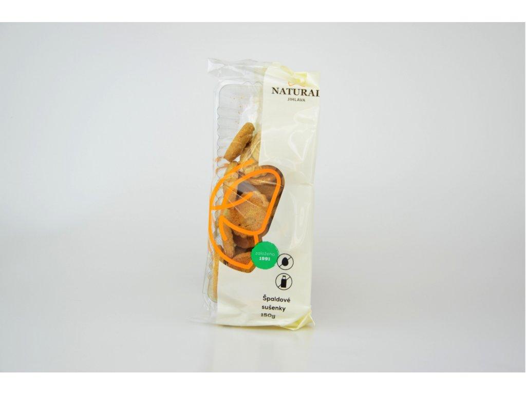 Špaldové sušenky celozrnné NATURAL 150 g